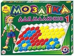 "Мозаика для малышей ""Технок"" № 1, 80 деталей"