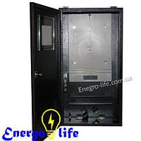 Шкаф монтажный распределительный ШМР-3Ф, герметичный - уличный, для 3ф счетчиков
