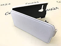 Чехол флип для Motorola Moto X белый