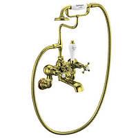 Смеситель для ванны Burlington CLR17 GOL золото