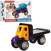 Магнитный конструктор  транспорт 383-384