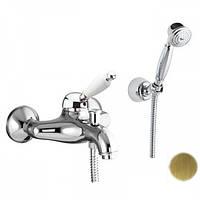 Смеситель для ванны с ручным душем Fiore Imperial 83ZZ5103 Бронза