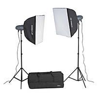 Комплект студийного света VL-300 Plus Kit (3 шт.)