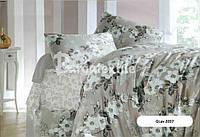 """Комплект постельного белья полуторный ТМ """"Ловец снов"""", Оттенки серого и бежевого"""