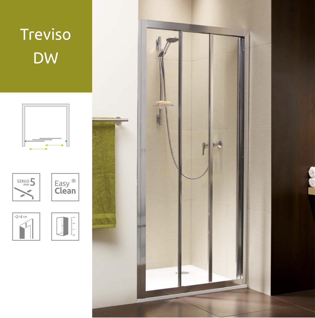Душевые двери Radaway Treviso DW