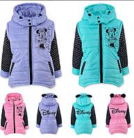 Демисезонная куртка - жилетка для девочки., фото 1