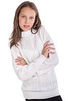 Свитер для девочки Мила белый