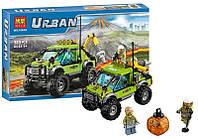 """Конструктор Bela 10638 (аналог Lego 60121) """"Разведывательный грузовик исследователей вулканов"""""""