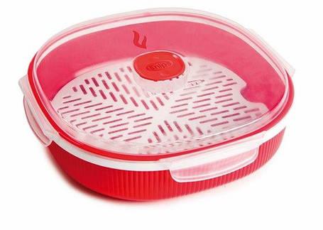 Пластиковый контейнер для приготовления еды на пару, 2 л, фото 2