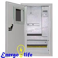 Щит учета и распределения ШМР-1Ф-10В УЗО, внутренний, для электронных счетчиков