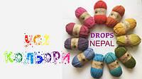 Обзор цветной гаммы пряжи Drops Nepal (+ видеообзор)