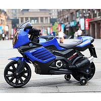 Детский мотоцикл M 3578EL-4 с кожаным сиденьем, EVA колёса
