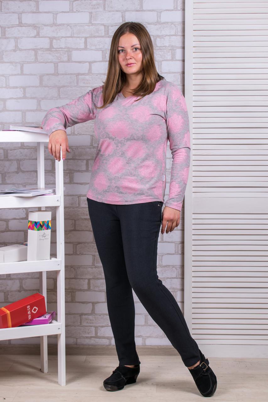 Женские штаны на флисе Ласточка А525-7. Размер 52-56.