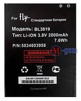 Аккумулятор для телефона Fly BL3819 (IQ4514 Quad) (2000 mA/ч)