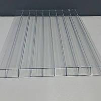 Сотовый поликарбонат 10 мм прозрачный