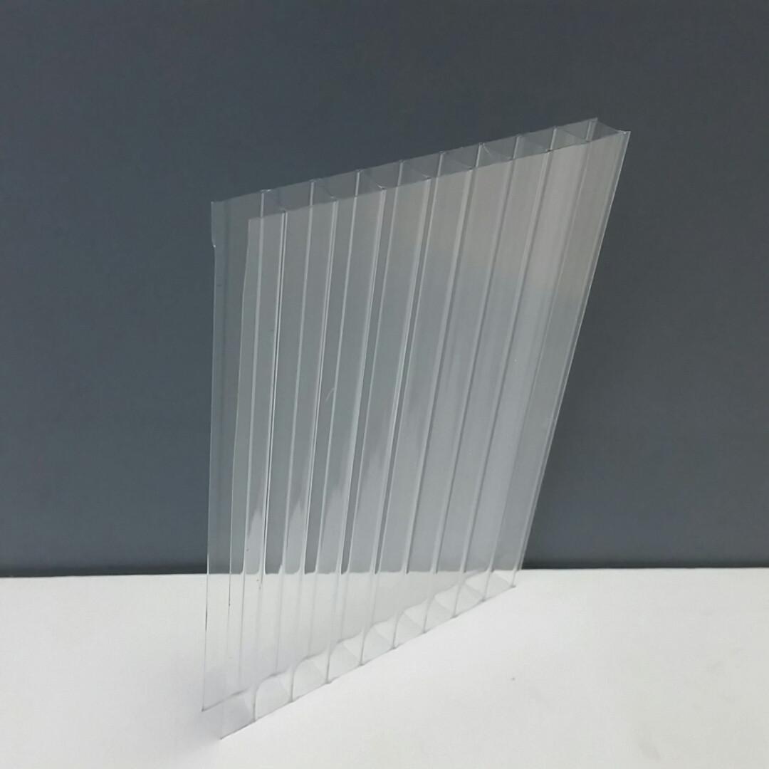 Сотовый поликарбонат 8 мм прозрачный