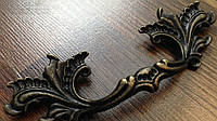 Ручка мебельная листья декоративная