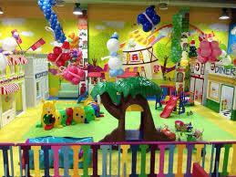 Детская игровая зона для праздника