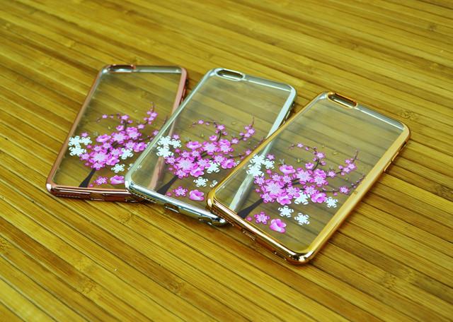 Чехол на Айфон, iPhone 6+\6 Plus T-BEST Цветок
