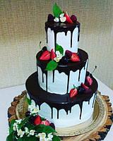 "Свадебный торт ""Berries of the bride"" на заказ"