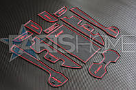 Антискользящие коврики в салон Toyota Camry 50
