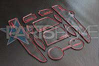 Антискользящие коврики Toyota Corolla 2007-2012