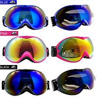 Маска горнолыжная/лыжные очки Nice Face 077: 3 цвета