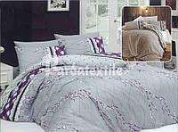 """Комплект постельного белья двуспальный ТМ """"Ловец снов"""",Привлекательный фиолет"""