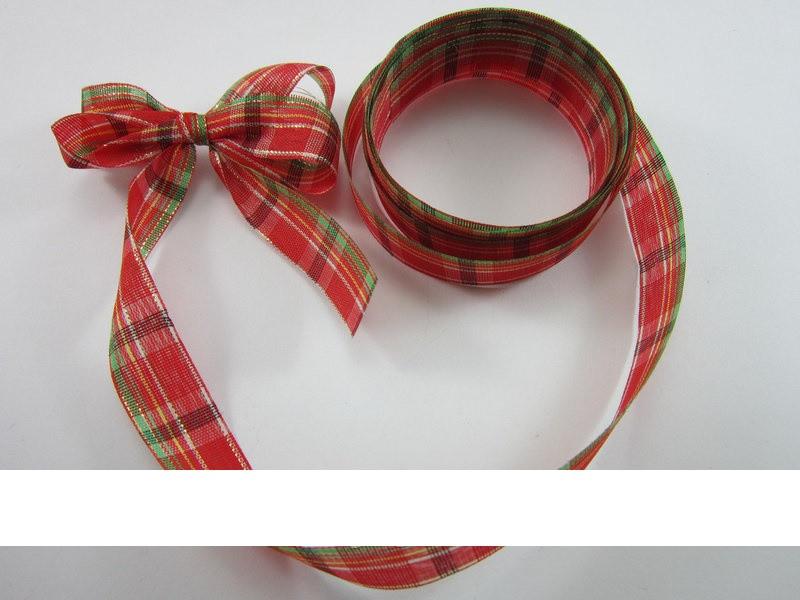 """Лента """"Шотландка"""" 20 мм (2 см), длиной 1 м"""