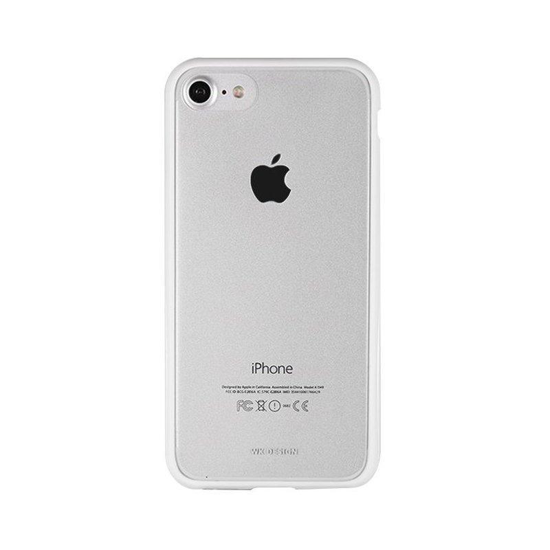 Силиконовый чехол WK Fluxay белый для iPhone 7 Plus 8 plus