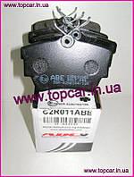 Гальмівні колодки задні Renault Trafic II 01 - ABE Польща C2R011ABE