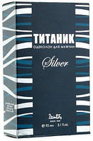 Одеколон Titaniks  Silver  95 мл. к.738