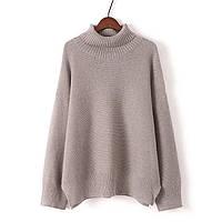 Объемный свитер два цвета, фото 1