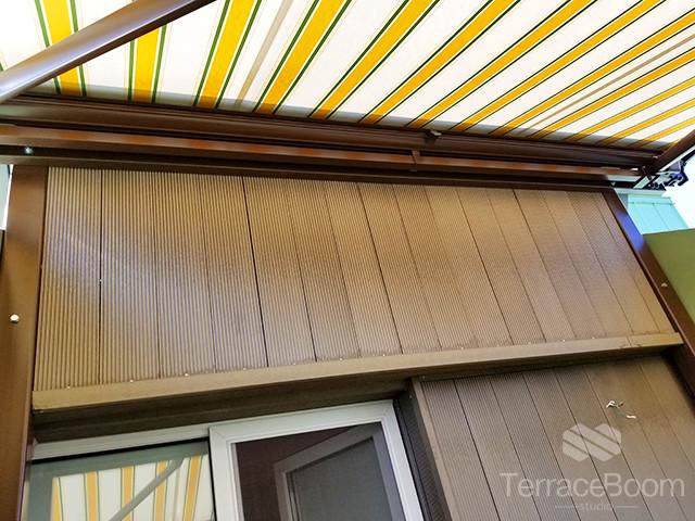 Обустройство балкона-террасы в Комфорт Таун, г. Киев 4