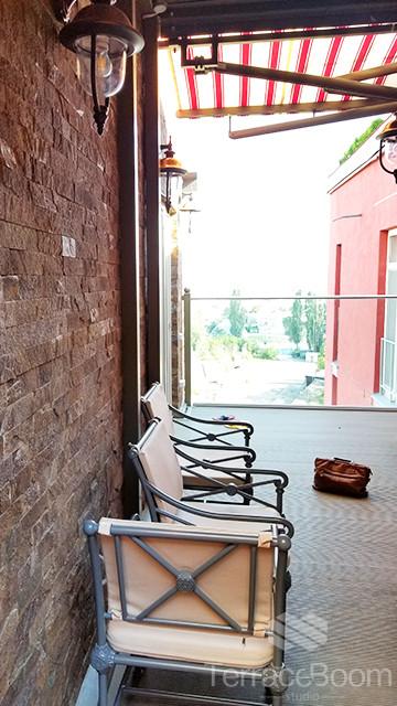 Обустройство балкона-террасы в Комфорт Таун, г. Киев 5