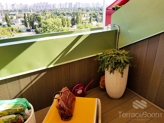 Обустройство балкона-террасы в Комфорт Таун, г. Киев 6