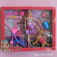 Кукла с собачкой аксессуары в коробке 40*32,5*6,5 см
