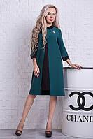 Модное платье строгого кроя