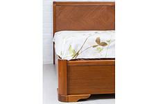 Спальня деревянная Ассоль (кровать с подъемным механизмом) Микс мебель, цвет темный орех / светлый орех, фото 3