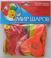 """Шарики набор """"Сердце+Спираль"""", цена за уп., в уп. 21шт., в пак. 19*13см, ТОВ """"Мир шаров"""""""