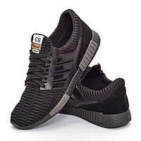 Мужские кроссовки черные (Код: DRM-302)