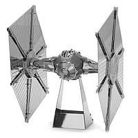 Самолет истребитель 3D металлическая модель-конструктор