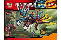 """Конструктор Ninja Lepin 06048 (аналог Lego Ninjago) """"Двухглавый дракон"""" 503 дет"""