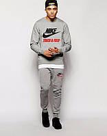 Спортивный костюм Nike серый, хлопковый, к5013