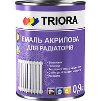 Краска для радиаторов TRIORA (белый глянец) 0,9 л