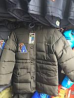 Куртка зимняя с искусственным мехом на мальчика 7-12лет