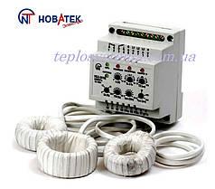 Универсальный блок защиты электродвигателей  УБЗ - 301 (10-100 А)  Новатек-Электро
