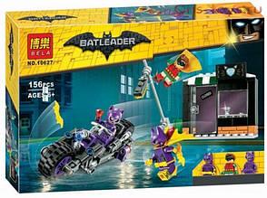 """Конструктор Bela Batman 10627  """"Погоня за Женщиной-кошкой"""" (аналог Lego The Batman Movie 70902) 156 деталей"""