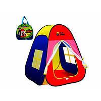 Палатка пирамида 86х77х74см, в сумке, 35х32х5см №M1423