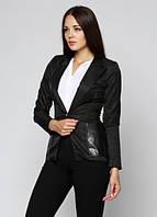 90915 Пиджак женский черный: imprezz.com.ua